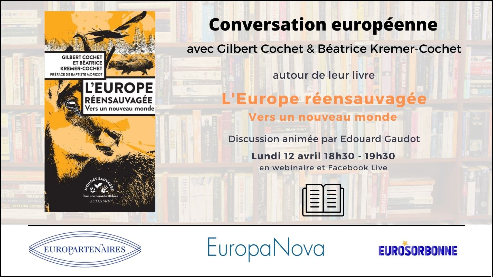 Affiche Conversation Européenne